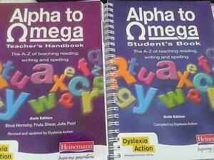 Alpha to Omega Teachers & Students handbook Cottesloe Cottesloe Area Preview