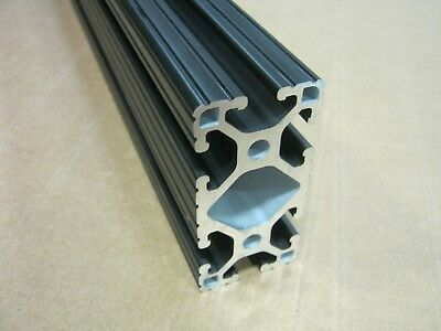 8020 Inc 1.5 X 3 T-slot Aluminum Extrusion 15 Series 1530-lite X 12 Black H1-2