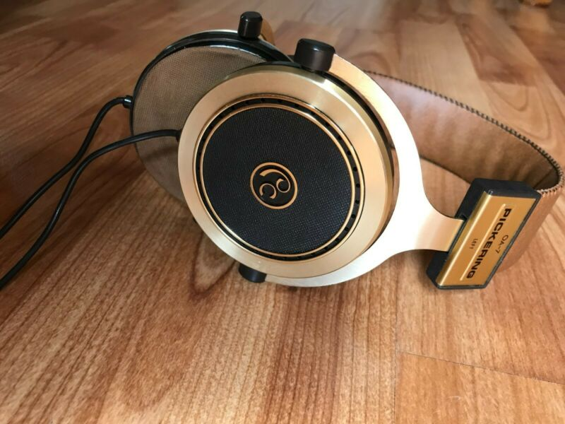 Vintage Pickering OA-7 Audio Stereo Headphones From Japan Great shape and clean!