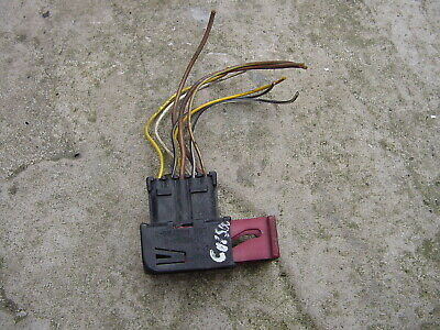 Vauxhall Corsa Headlight Plug Wiring Loom LEFT NS Head Light Lamp Wire