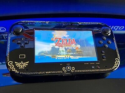 TESTED! EXCELLENT! Replacement Nintendo Wii U Zelda Wind Waker Gamepad Only