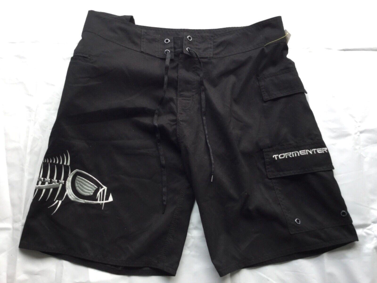 Tormenter Men's 5-Pocket Waterman Fishing Board Shorts Sz 36
