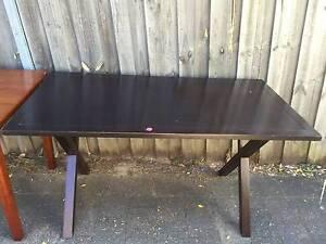 Dark chocolate desk Lane Cove North Lane Cove Area Preview