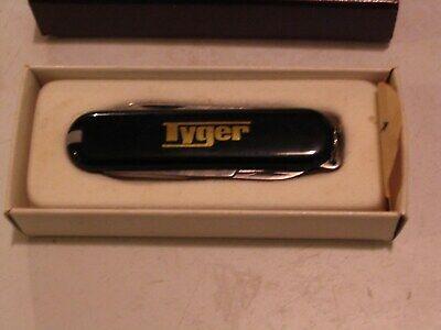 **TYGER CONSTRUCTION COMPANY** SAFETY AWARD Pocket Knife Advertising