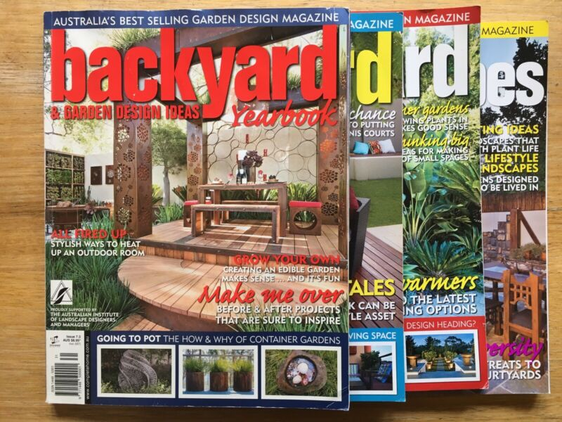 Backyard Garden Design Ideas Magazines 4 Magazines Gumtree Australia Darebin Area Northcote 1259264282