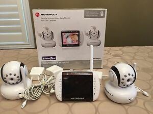 Motorola Baby Monitor with two cameras