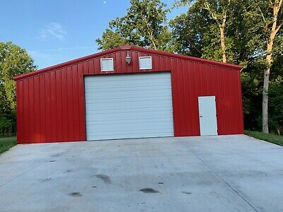 36x60x12 Steel Building Simpson Metal Kit Garage Workshop Prefab Structure