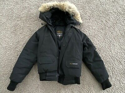 Excellent Condition CANADA GOOSE Rundle Bomber Jacket Coat - Kids size Large