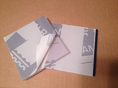 Palsun Polycarbonate Clear Sheet 12 12mm X 6 X 6 2 Pce Lot