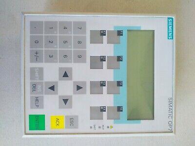 Siemens Simatic Panel OP 7 DP 6AV3 607 1JC20 0AX1