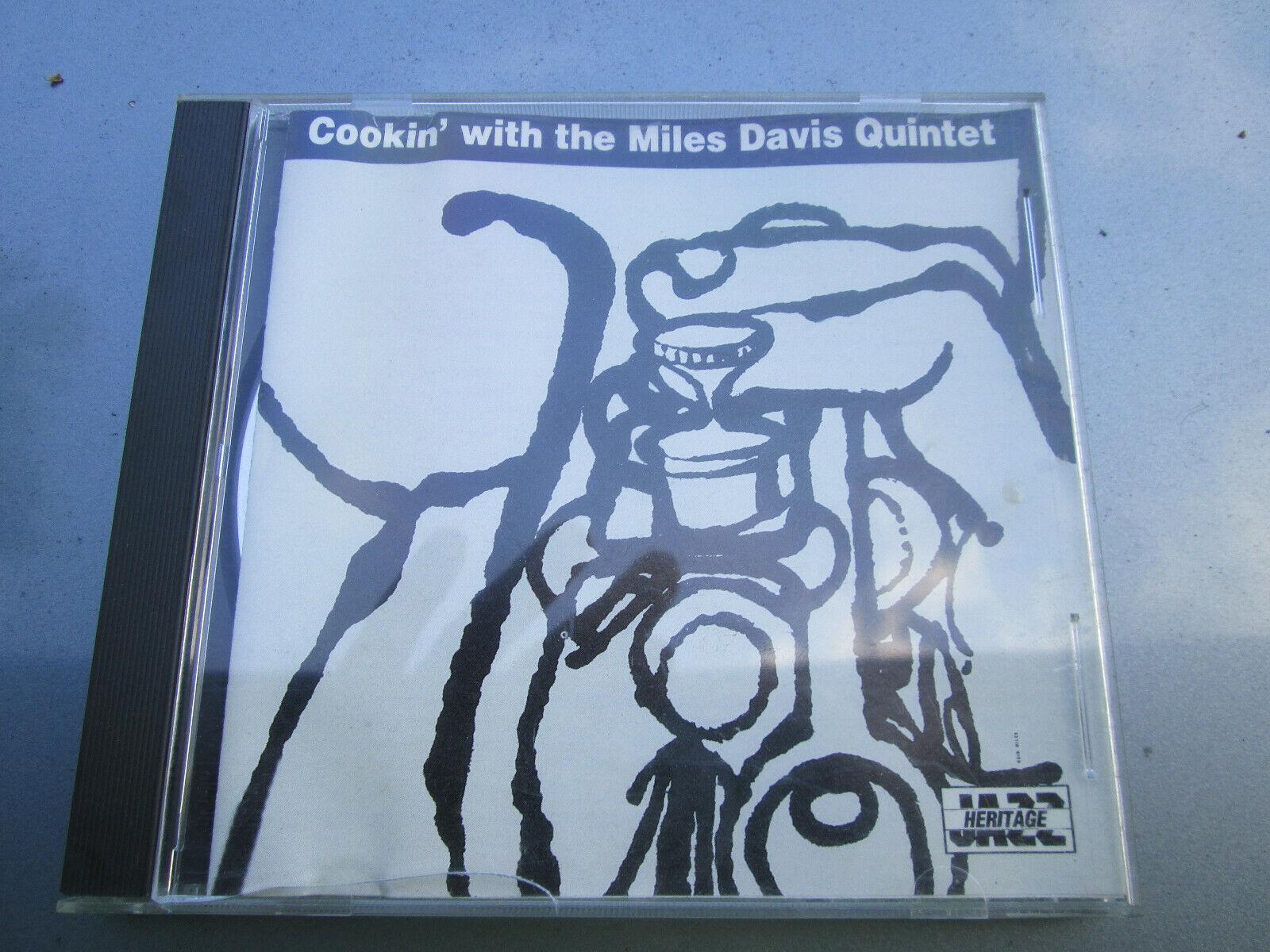 Cookin With The Miles Davis Quintet Jazz Trumpet RARE CD Album - $9.99