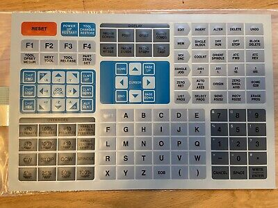 New Haas 61-0200D 61-0200B Keypad Replacement Keyboard Buttons VF0 VF1 VF2 VF3