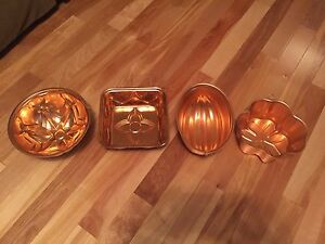 Jello moulds