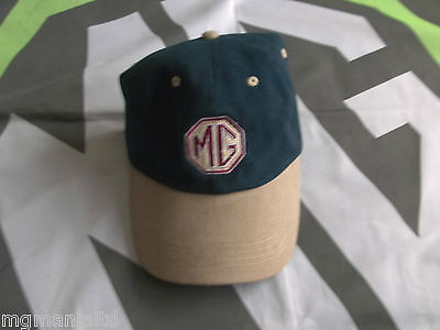 mg tf baseball cap blue beige brand new hat midget caps