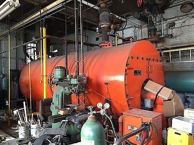 Kewanee Boiler Corporation - Natural Gas 350 Hp H3s-350-g