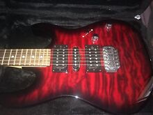Electric guitar with amp Tweed Heads West Tweed Heads Area Preview