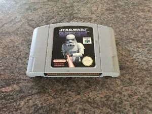Star Wars shadows of the empire for n64