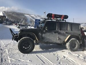 Jeep JKU wrangler roof rack