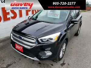 2017 Ford Escape Titanium ALL WHEEL DRIVE, BACK UP CAMERA AND...