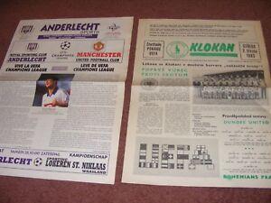 BOHEMIANS PRAGUE V DUNDEE UTD 1983/4 UEFA CUP