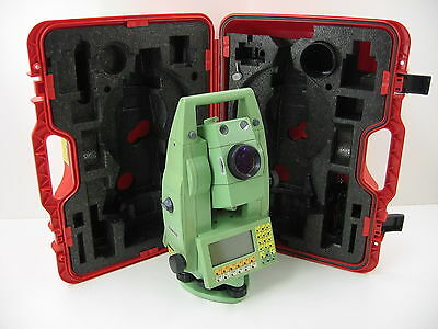 Leica Tcra1103 Plus 3 Robotic Total Station For Surveying One Month Warranty