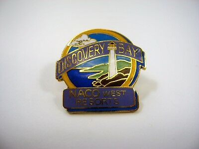 Vintage Collectible Pin  Discovery Bay Naco West Resorts