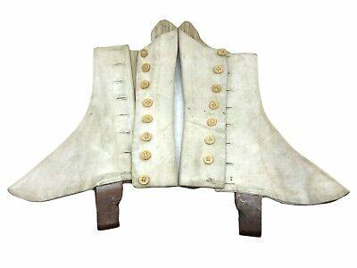 Spats, Gaiters, Puttees – Vintage Shoes Covers Canadian British Highland Regiment Spats  $50.00 AT vintagedancer.com