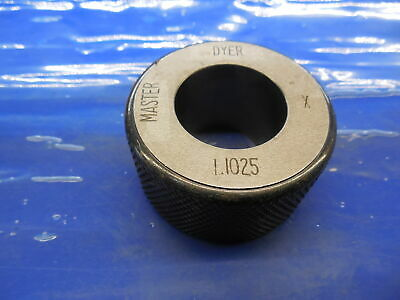 1.1025 Class X Master Bore Ring Gage 1.0938 .0087 Oversize 1 332 28.004 Mm