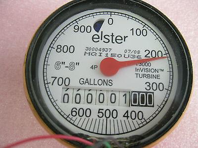 Elster T3000-mqi150u36 Invision Turbine Meter-new