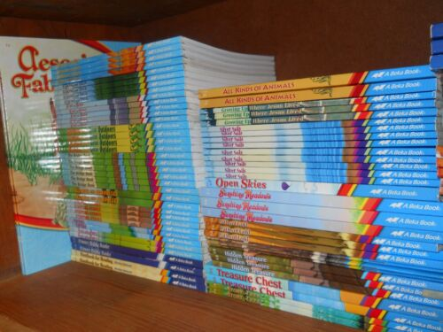"""BUILD YOU OWN"""" BOOK LOT ABEKA READERS-$5.00 EA.+SHIP DISC. ON 2+ some current"""