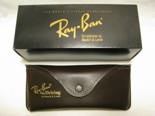 Ray Ban for Driving Series Case by B&L for Aviator Chromax Rare Vintage NOS New