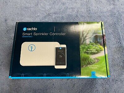NEW Rachio WiFi Smart Lawn Sprinkler Controller, 16-Zone 2nd Generation