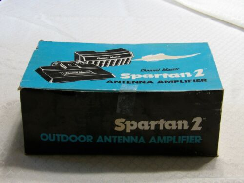 Channel Master Spartan 2 Model 0029C Outdoor Antenna Amplifier New Old Stock