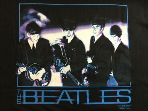 Beatles Vibrant Blue Adult T-Shirt - Size Large