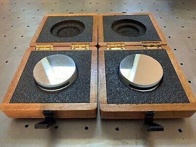 Davidson Optronics D617-3 Optical Flat Mirrors 0.000004 Flatness