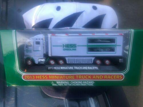 2013 Hess Truck Mini 18-Wheeler And Race Cars New In Box