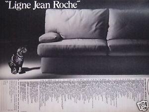 publicit ligne jean roche canap chat ebay. Black Bedroom Furniture Sets. Home Design Ideas