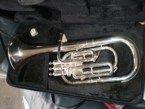 Tenor Horn Elkhart 100THS silver plated bought & not played