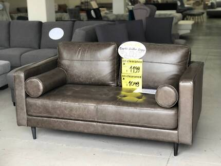 Designer Italian Leather Lounge Clearance 80 Off Rrp