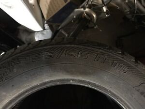 4 winter tires 195 65 R15
