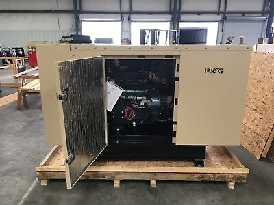 30 Kw Diesel Generator Kubota Enclosed W 65 Gallonfuel Tank Auto Start