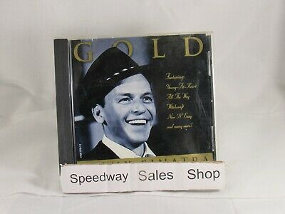 #76- Frank Sinatra - Gold Music CD : Songs : My Funny Valentine, Chicago -