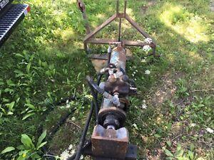 log spliter hydraulic  tractor  skidsteer