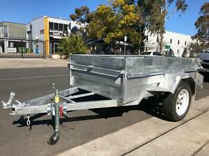 7x5 HEAVY DUTY HIGHSIDES BOX TRAILER GALVANISED Cardiff Lake Macquarie Area Preview