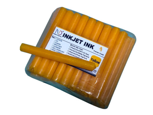 Solid Wax Inkjet Ink For Xerox Hotmelting Printhead Digital Printing Yellow 400g