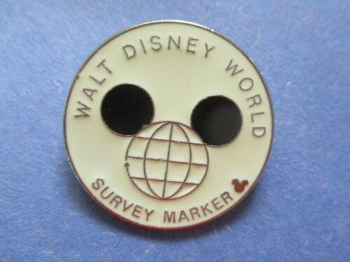 Walt Disney World Survey Marker Hidden Mickey - Disney Pin