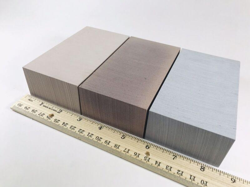 Ren Board, Renshape 472, 450, BM70 - Tooling Board Sample Pack For Milling & DIY