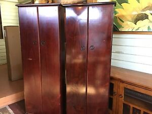 CD tall cabinets x 2 Chester Hill Bankstown Area Preview