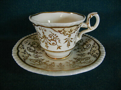 Early Spode Copeland Garrett Period Pattern 4396 Cup And Saucer Set - $28.95