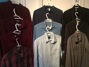 10 SHIRTS - Topshop, Urban Outf, HM, Uniqlo
